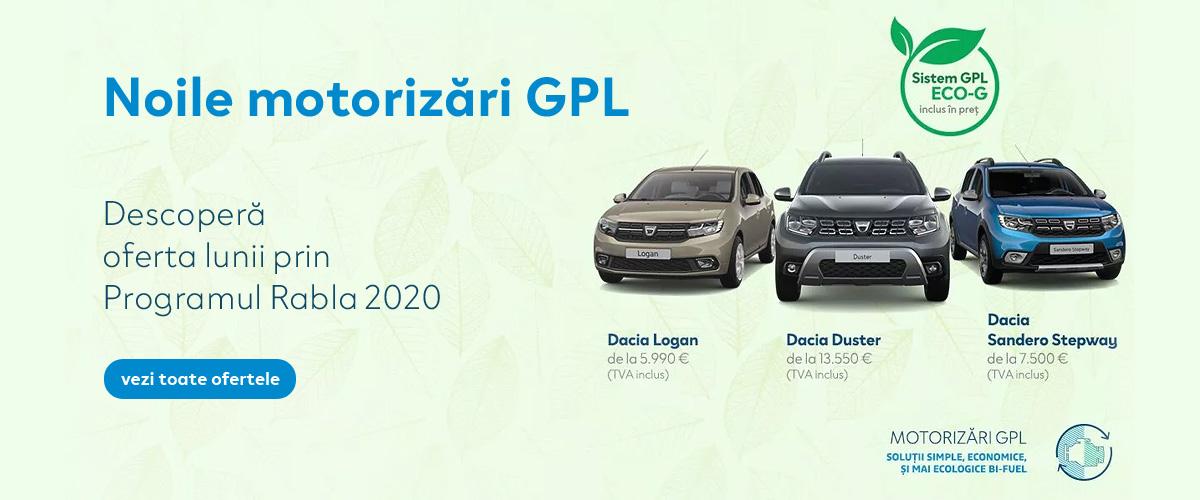 Dacia Programul Rabla 2020